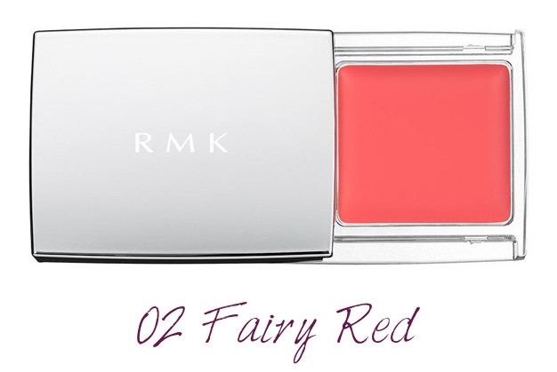 RMK 2018 Spring Summer Collection Chic Light Spring Multi Paint Colors 02 Fairy Red