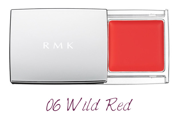 RMK 2018 Spring Summer Collection Chic Light Spring Multi Paint Colors 06 Wild Red