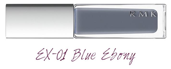 RMK 2018 Spring Summer Collection Chic Light Spring Nail Polish EX-01 Blue Ebony