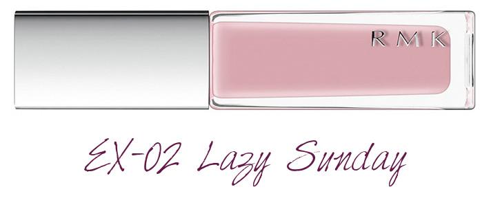 RMK 2018 Spring Summer Collection Chic Light Spring Nail Polish EX-02 Lazy Sunday