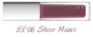 RMK 2018 Spring Summer Collection Chic Light Spring Nail Polish EX-06 Sheer Mauve