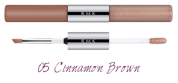 RMK 2018 Spring Summer Collection Chic Light Spring W Water Eyes Color Ink 05 Cinnamon Brown