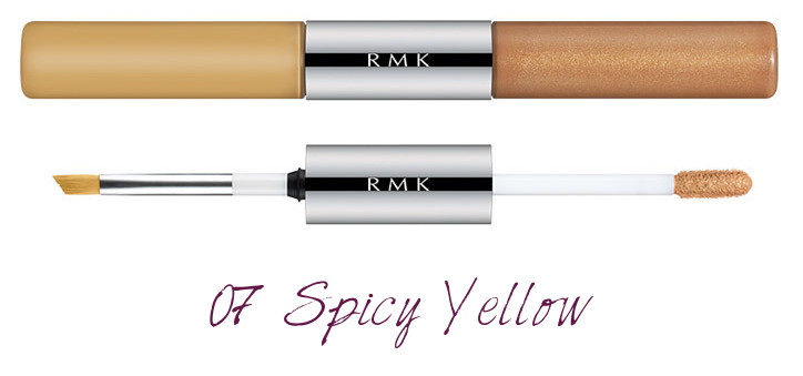 RMK 2018 Spring Summer Collection Chic Light Spring W Water Eyes Color Ink 07 Spicy Yellow
