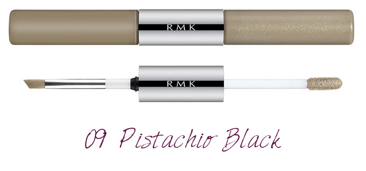 RMK 2018 Spring Summer Collection Chic Light Spring W Water Eyes Color Ink 09 Pistachio Black