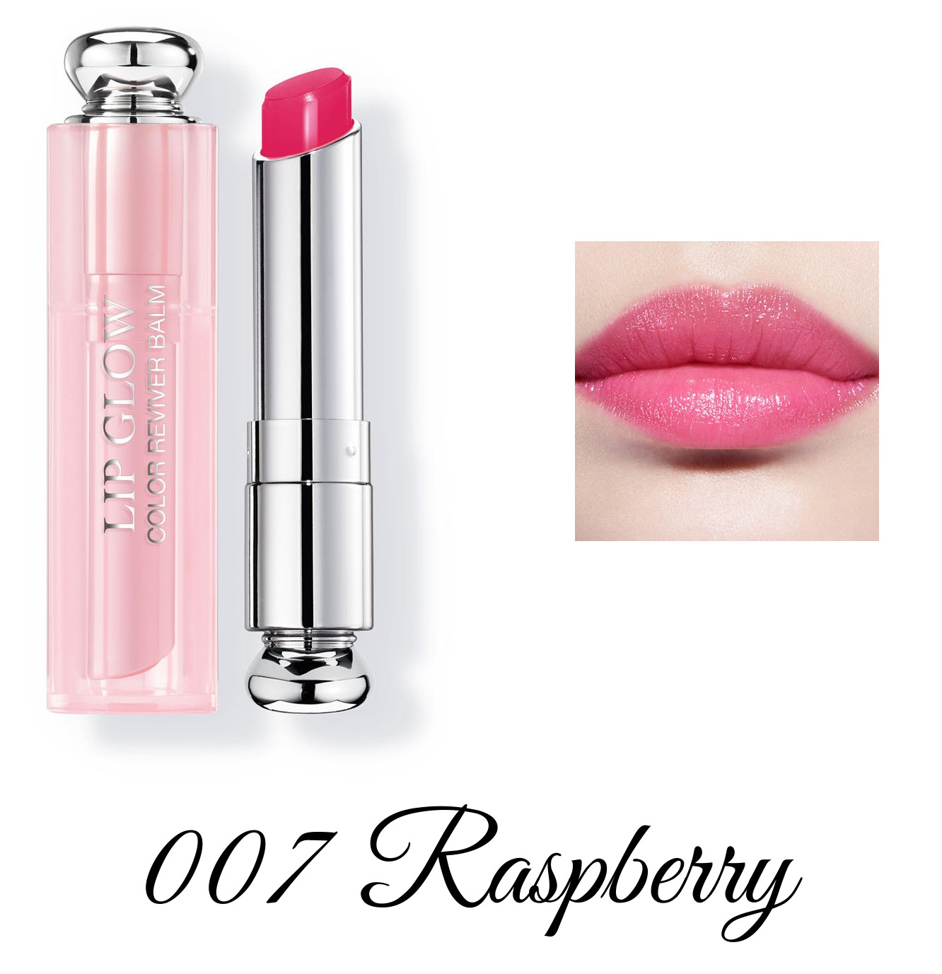 Dior Spring 2018 Collection GLOW ADDICT Dior Addict Lipglow 007 Raspberry