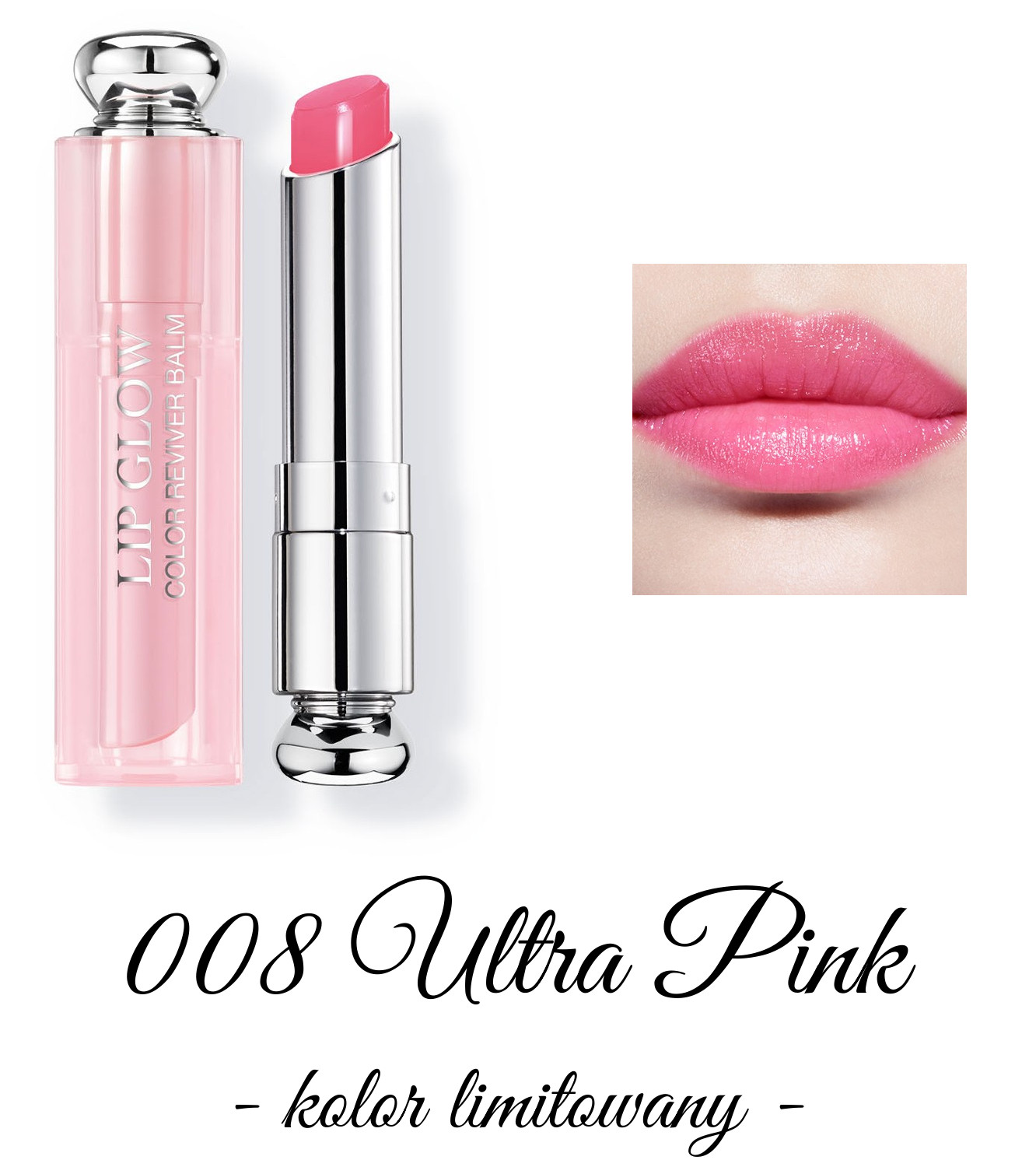 Dior Spring 2018 Collection GLOW ADDICT Dior Addict Lipglow 008 Ultra Pink