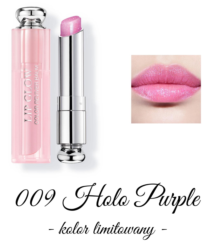 Dior Spring 2018 Collection GLOW ADDICT Dior Addict Lipglow 009 Holo Purple