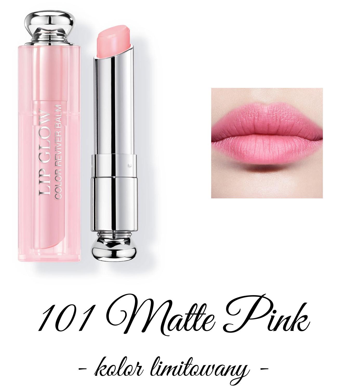 Dior Spring 2018 Collection GLOW ADDICT Dior Addict Lipglow 101 Matte Pink