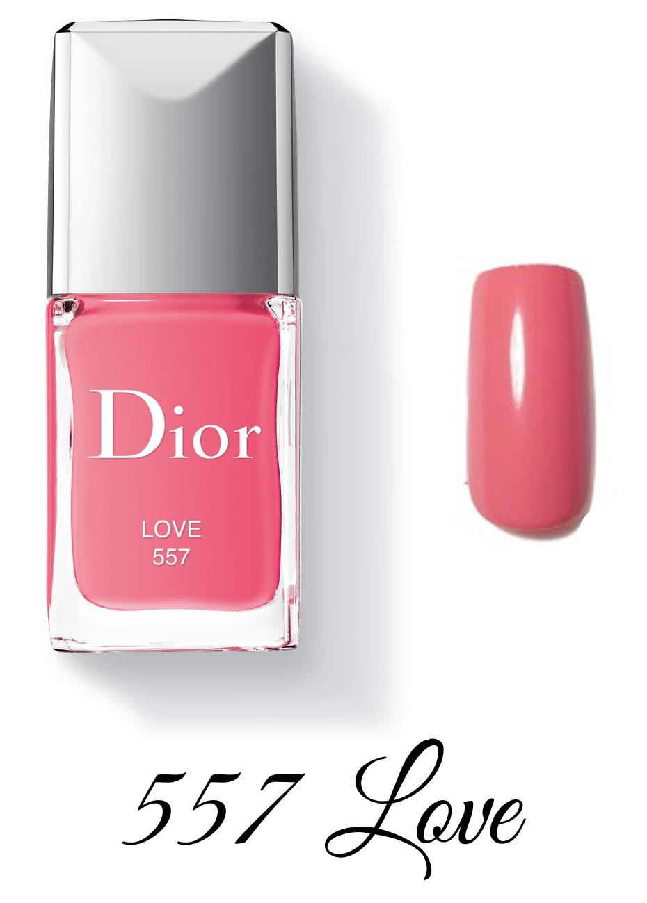 Dior Spring 2018 Collection GLOW ADDICT Dior Vernis 557 Love