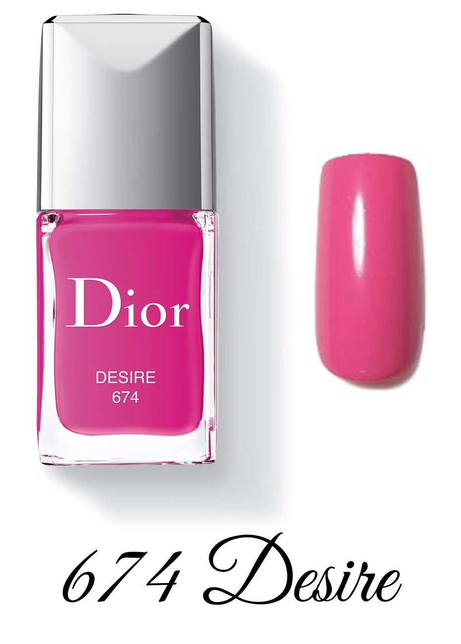 Dior Spring 2018 Collection GLOW ADDICT Dior Vernis 674 Desire