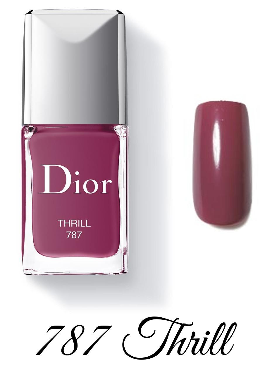Dior Spring 2018 Collection GLOW ADDICT Dior Vernis 787 Thrill