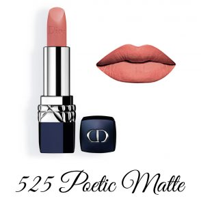 Dior Spring 2018 Collection GLOW ADDICT Rouge Dior 525 Poetic Matte