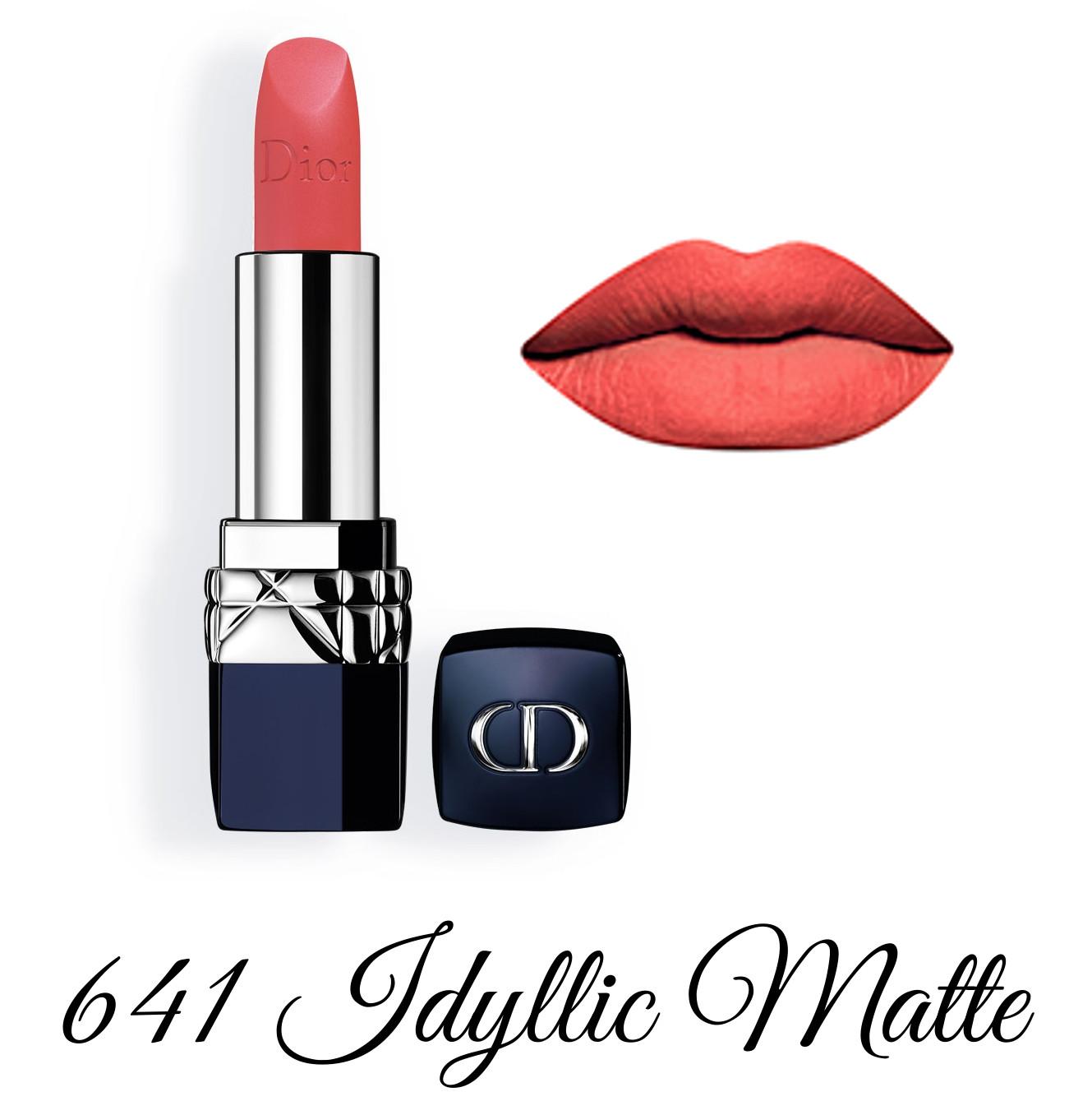Dior Spring 2018 Collection GLOW ADDICT Rouge Dior 641 Idyllic Matte