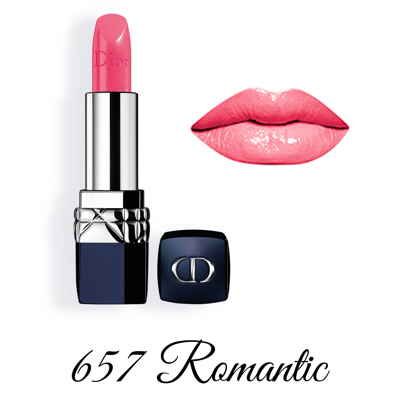 Dior Spring 2018 Collection GLOW ADDICT Rouge Dior 657 Romantic