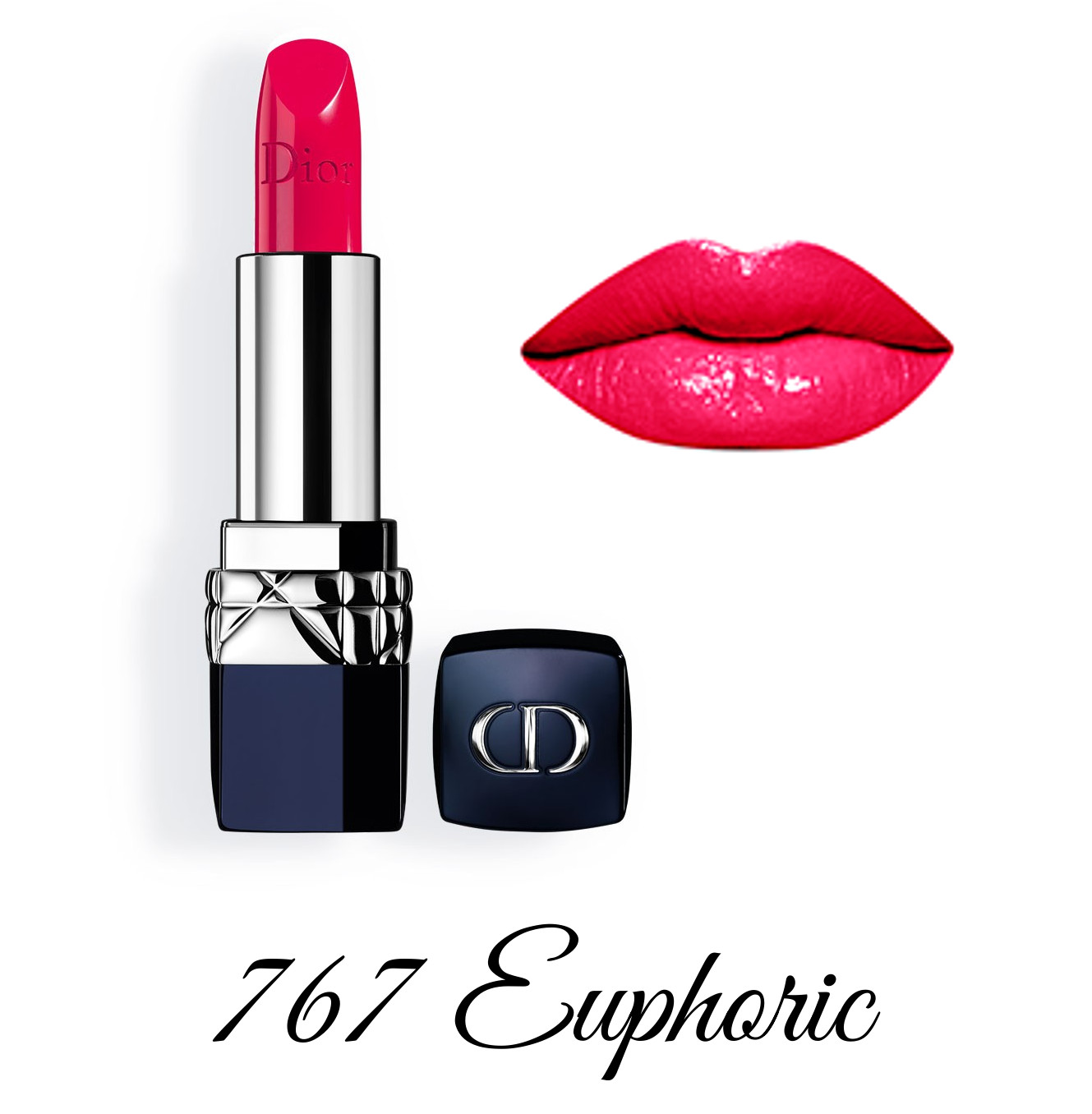 Dior Spring 2018 Collection GLOW ADDICT Rouge Dior 767 Euphoric