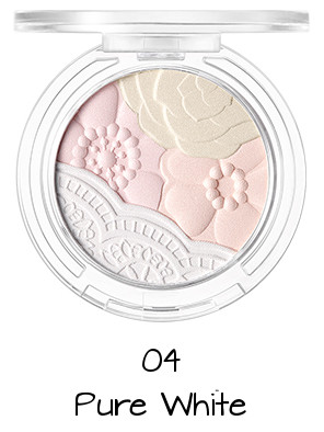 Tony Moly 2018 Spring Summer Fabric Collection Crystal Lace Blusher 04 Pure White