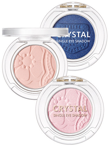 Tony Moly 2018 Spring Summer Fabric Collection Crystal Single Eye Shadow