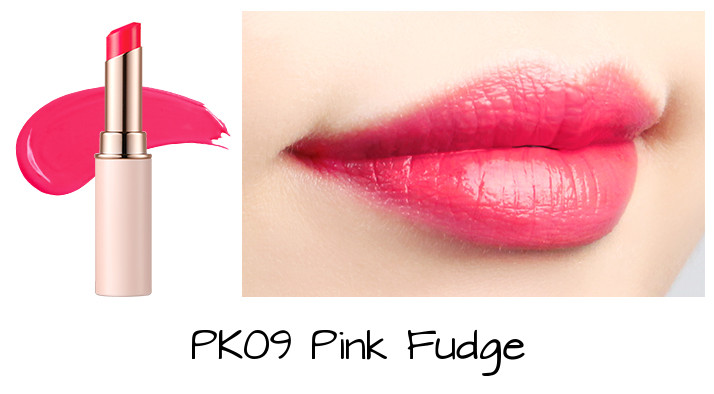 Tony Moly 2018 Spring Summer Fabric Collection Kiss Lover Style Lipstick PK09 Pink Fudge