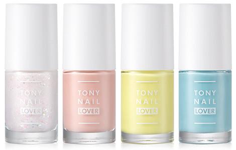 Tony Moly 2018 Spring Summer Fabric Collection Tony Nail Lover