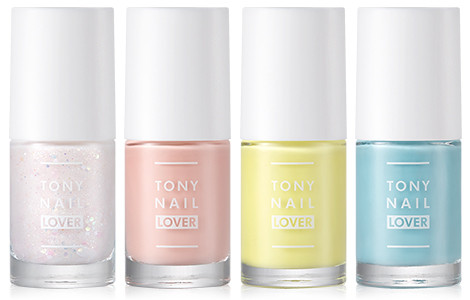 Tony Moly 2018 Spring Summer Fabric Collection Tony Nail Lover