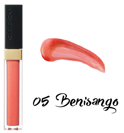 SUQQU 2018 Spring Color Collection Flawless Lip Gloss 05 Benisango