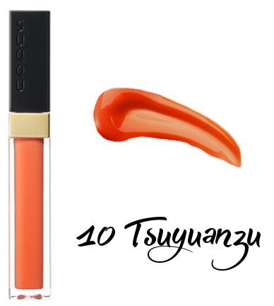 SUQQU 2018 Spring Color Collection Flawless Lip Gloss 10 Tsuyuanzu