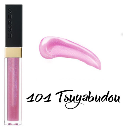SUQQU 2018 Spring Color Collection Flawless Lip Gloss 101 Tsuyabudou