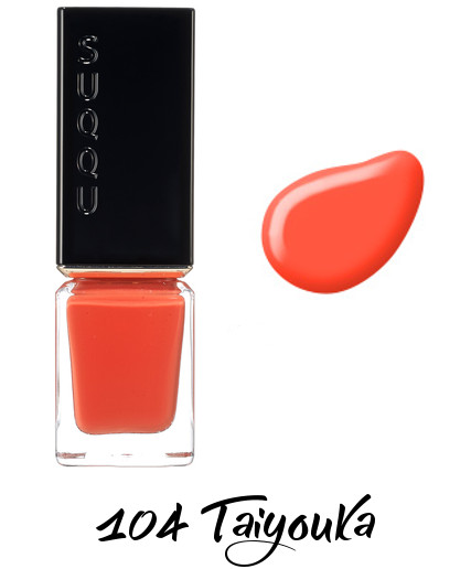 SUQQU 2018 Spring Color Collection Nail Color Polish 104 Taiyouka