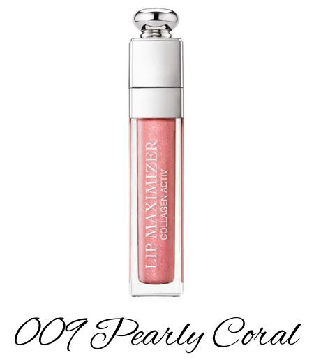 Dior Diorsnow Spring 2018 Collection Dior Addict Lip Maximizer 009 Pearly Coral