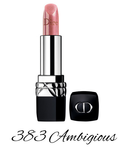 Dior Diorsnow Spring 2018 Collection Dior Rouge 383 Ambigious