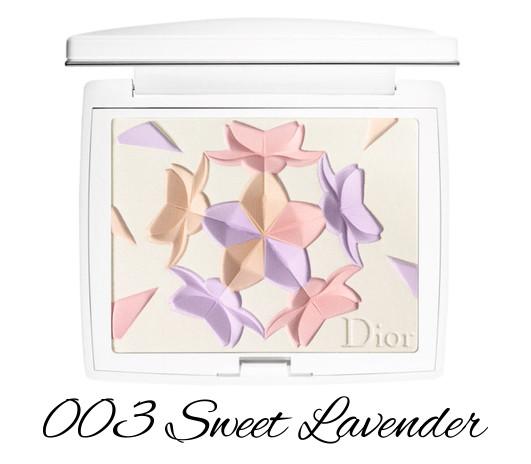 Dior Diorsnow Spring 2018 Collection Snow Blush & Bloom Powder 003 Sweet Lavender