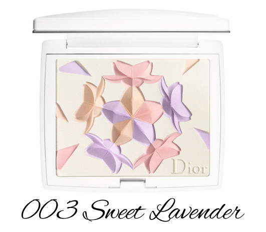 Dior Diorsnow Spring 2018 Collection Snow Blush & Bloom Powder 003 Sweet Lavender
