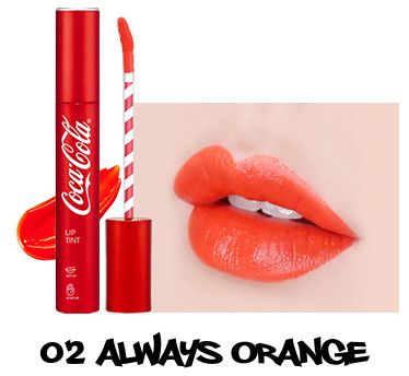 The Face Shop x Cola Cola Coca Cola Edition Coca Cola Lip Tint 02 Always Orange