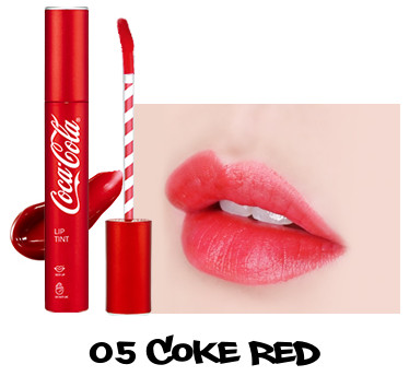 The Face Shop x Cola Cola Coca Cola Edition Coca Cola Lip Tint 05 Coke Red