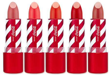 The Face Shop x Cola Cola Coca Cola Edition Coca Cola Lipstick