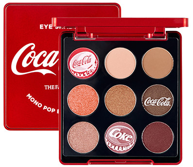 The Face Shop x Cola Cola Coca Cola Edition Mono Pop Eyes