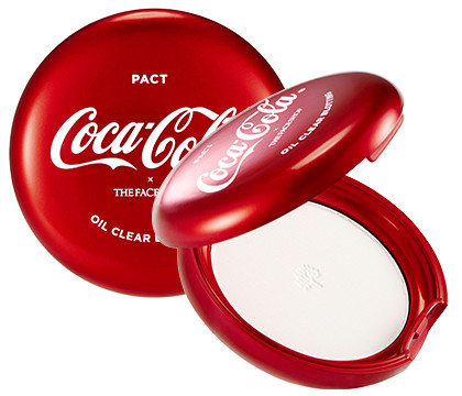 The Face Shop x Cola Cola Coca Cola Edition Oil Clear Blooting Pact