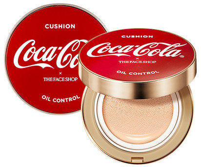 The Face Shop x Cola Cola Coca Cola Edition Oil Control Water Cushion