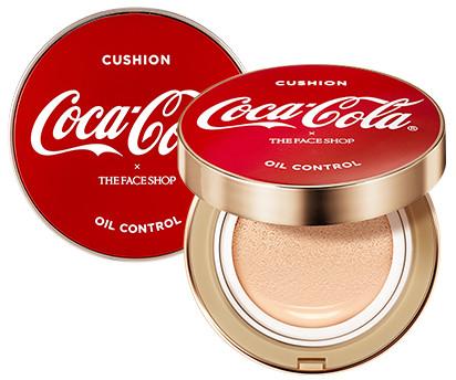 The Face Shop x Cola Cola Coca Cola Edition Oil Control Water Cushion