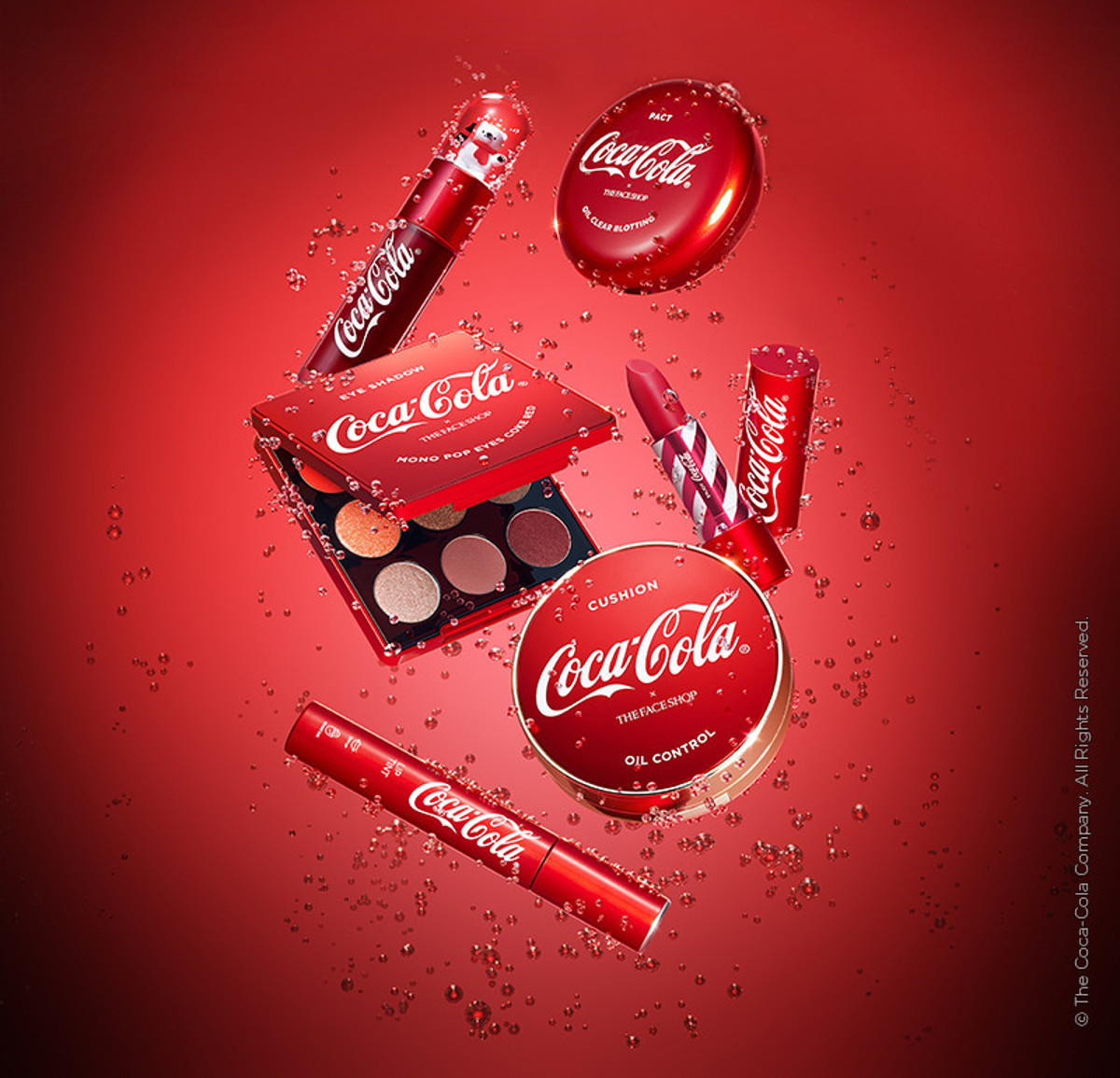 The Face Shop x Cola Cola Coca Cola Edition