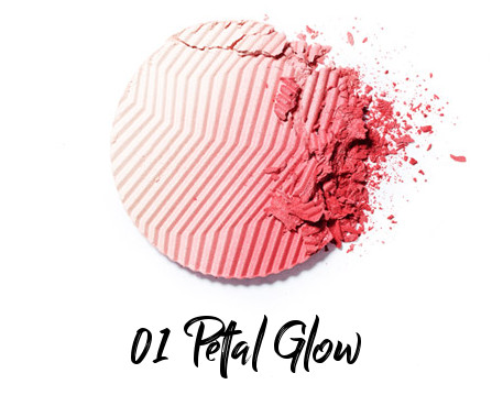 Hera and Edith Carron Collaboration Secret Party Black Cushion Gradation Highlighter 01 Petal Glow