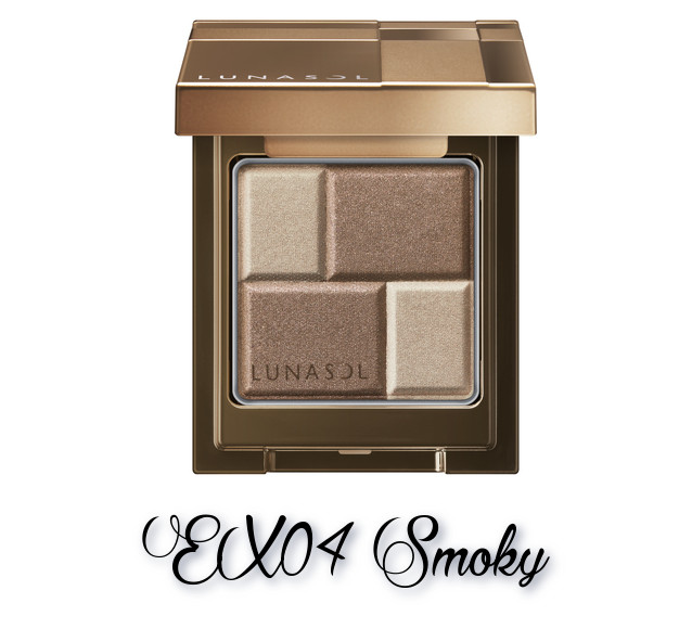 LUNASOL 2018 Autumn Makeup Collection Melting Color Eyes EX04 Smoky