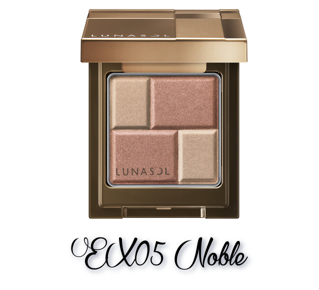 LUNASOL 2018 Autumn Makeup Collection Melting Color Eyes EX05 Noble