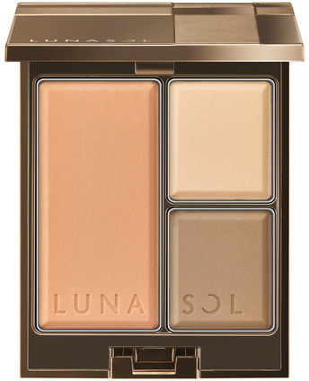 LUNASOL 2018 Autumn Makeup Collection Modeling Face Compact