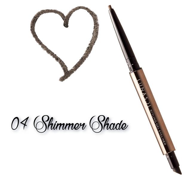 LUNASOL 2018 Autumn Makeup Collection Styling Gel Eyeliner 04 Shimmer Shade