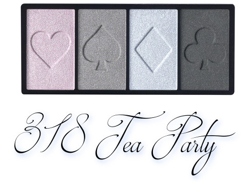 Clé de Peau Beauté Holiday Collection 2018 Ombres Couleurs Quadri 318 Tea Party