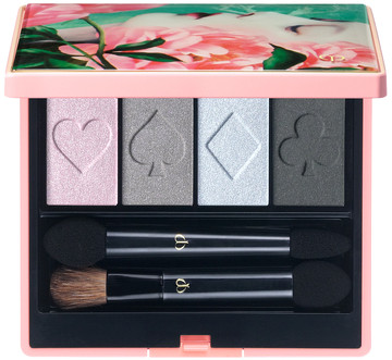 Clé de Peau Beauté Holiday Collection 2018 Ombres Couleurs Quadri