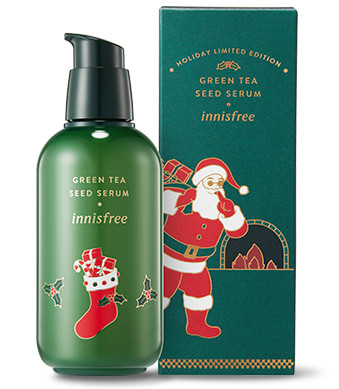 Innisfree 2018 Green Christmas Limited Edition Green Tea Seed Serum