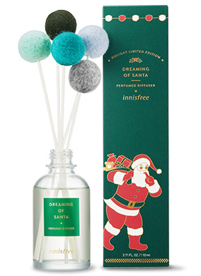 Innisfree 2018 Green Christmas Limited Edition Perfumed Diffuser Dreaming of Santa