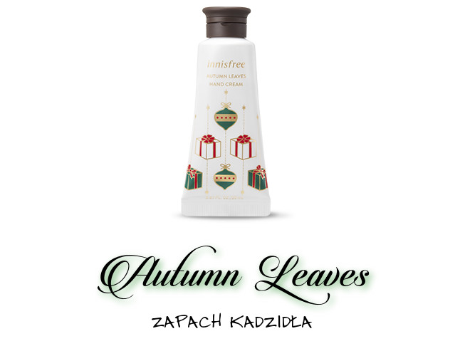 Innisfree 2018 Green Christmas Limited Edition Perfumed Hand Cream Miniature Set Autumn Leaves
